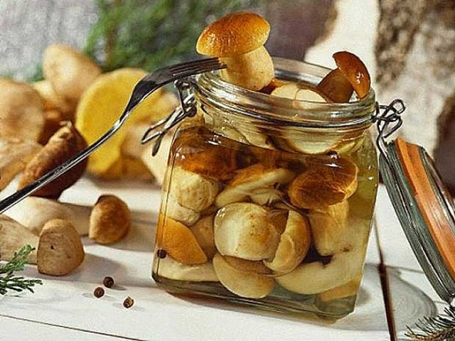 Маринование грибов на зиму в банках рецепт, простой способ