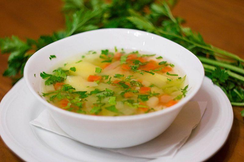 Вкусный летний суп