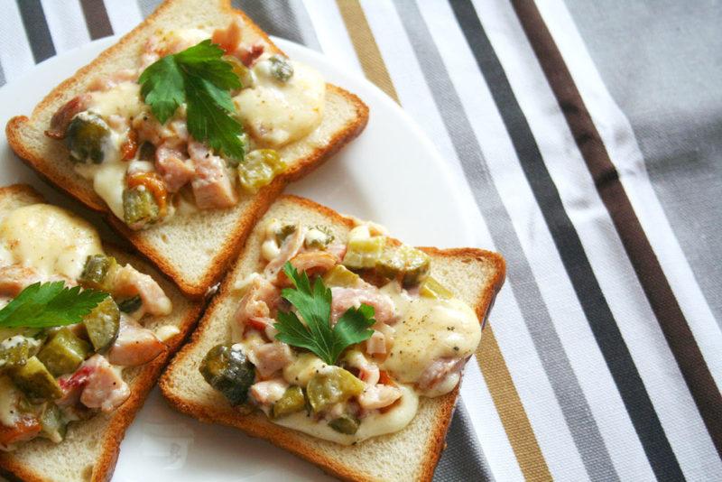 Горячие бутерброды «Замки Луары»