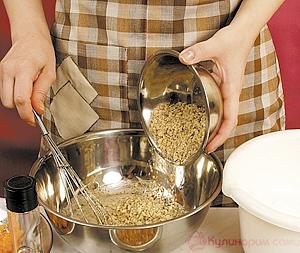Молотые орехи