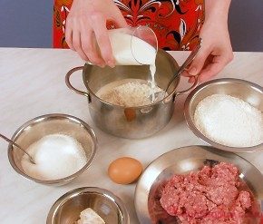 Расстегаи с мясом