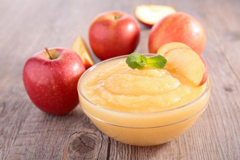 Мусс из свежих яблок