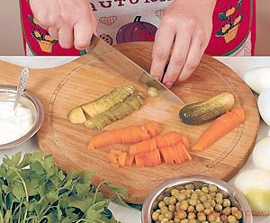 Салат оливье классический рецепт с фото