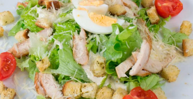 Салат «Цезарь» классический рецепт с фото