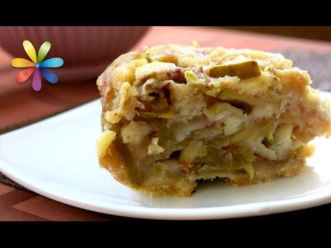 Насыпной яблочный пирог по-болгарски