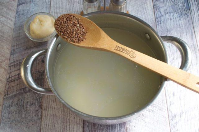 """Гречневый суп """"Сливочный"""""""