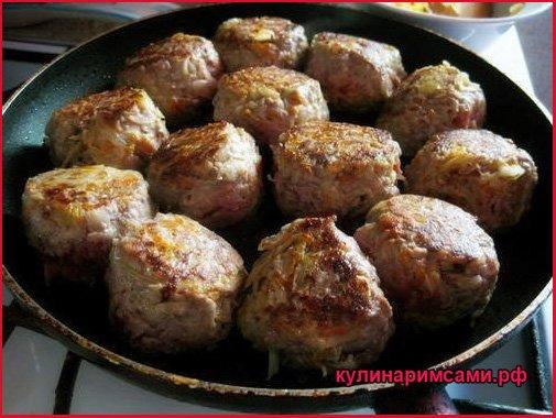 Мясные фрикадельки с капустой