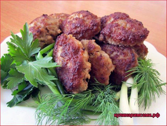 Котлеты из мяса и тыквы