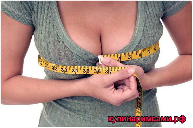 6 продуктов для быстрого увеличения груди