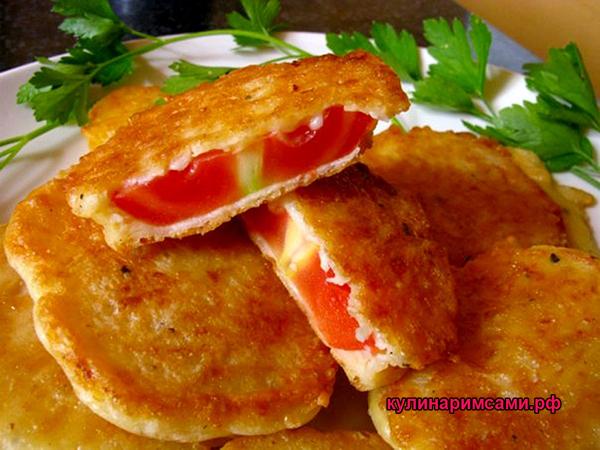помидоры в кляре