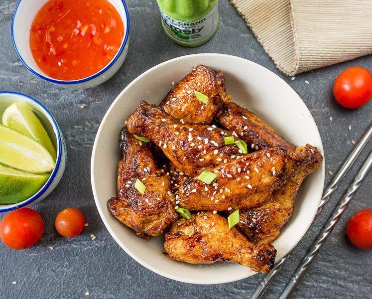 Жареные куриные крылышки по-китайски