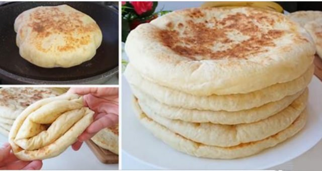 Постный турецкий хлеб