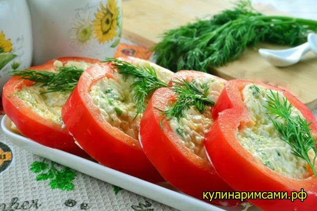 закуска из перцев и сыра