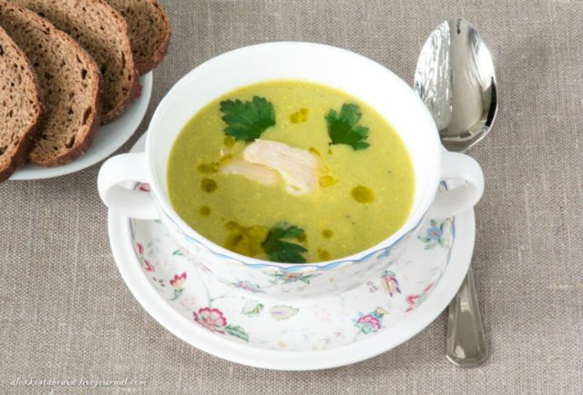 Суп-пюре «С курицей» на 10 порций