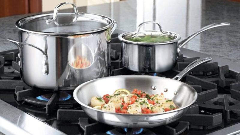 Что лучше: посуда из нержавейки или посуда с антипригарным покрытием?