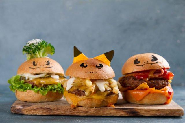 приготовление детских гамбургеров