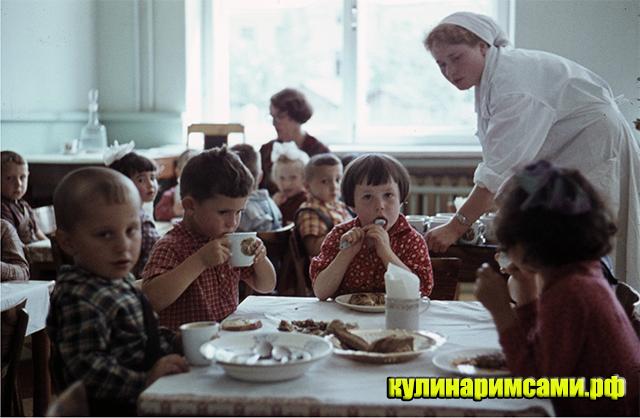 семь блюд из детского сада