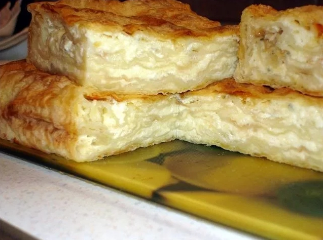 рецепт пирога из лаваша с сыром и творогом
