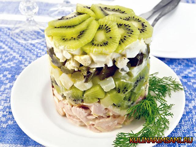 Кисло-сладкие салаты