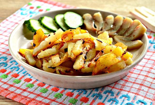 Как правильно жарить картошку?